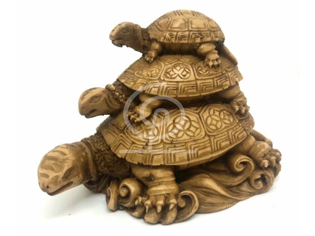 Soška tři želvy