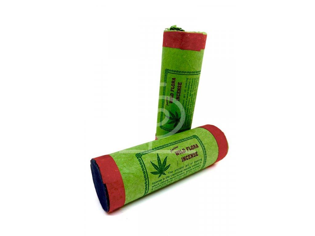 Vonné tyčinky Wild Flora (konopí) Incense