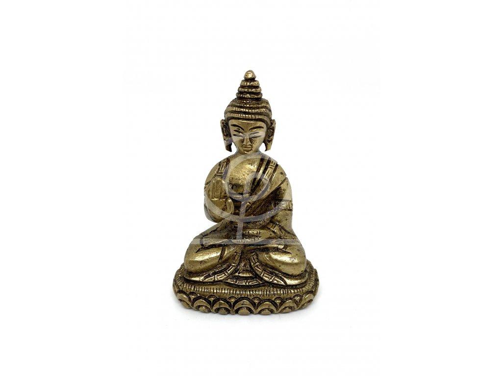 Soška Buddha kov 07cm IV.