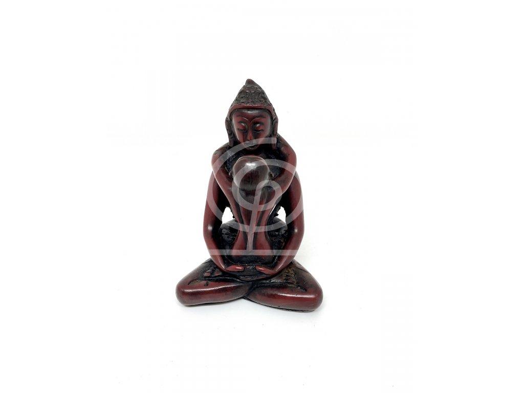 Soška Samantabhadra, resin 8cm