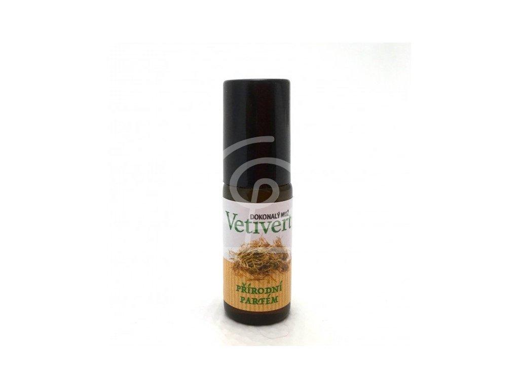 Dokonalá láska - 100% přírodní parfém Vetivert (1ml)