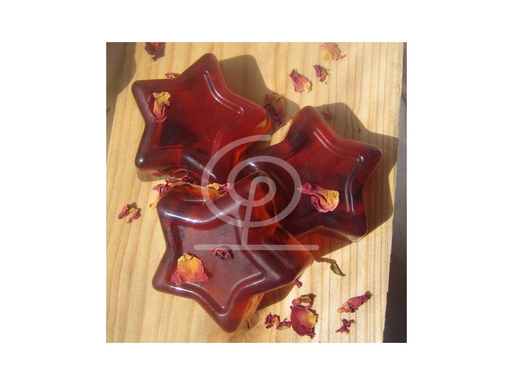 Libebit Mýdlo s mandlovým olejem a plátky růží