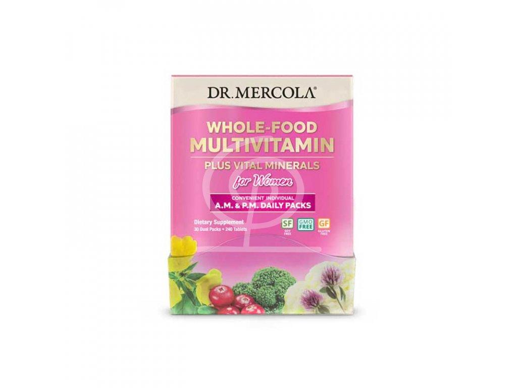 Dr. Mercola Multivitamín pro ženy, 240 tbl Dail packs