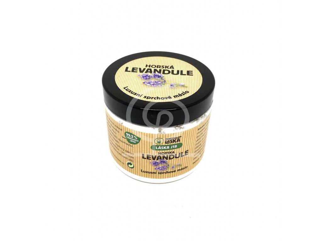 Dokonalá láska - sprchové máslo Horská levandule (200ml)