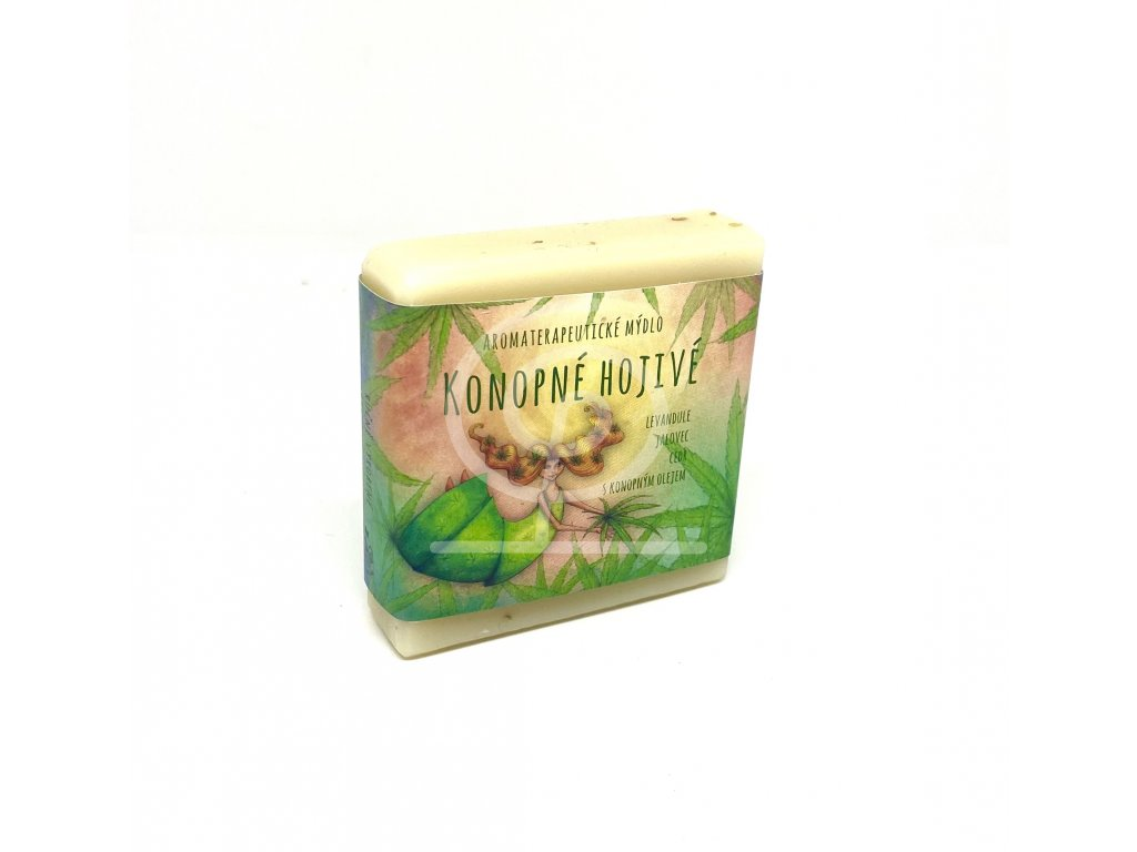 Mýdlo konopné hojivé