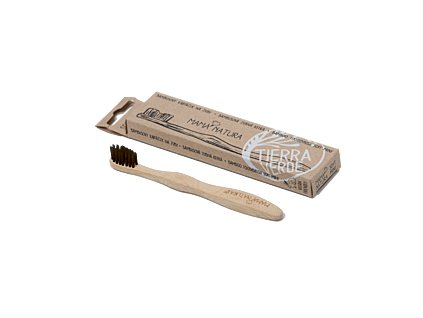 Bambusový kartáček na zuby Soft mini