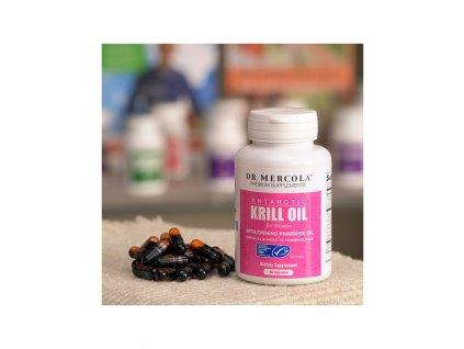Dr. Mercola Krill olej s pupalkou 90 tbl