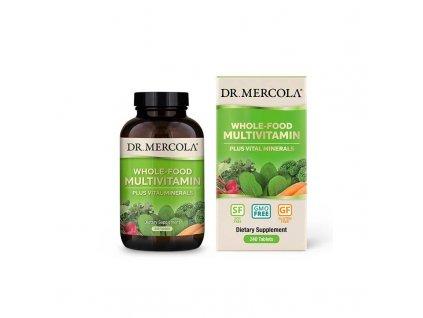 Dr. Mercola Multivitamín dospělí 240 tbl