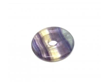 Donut 30 mm - fluorit