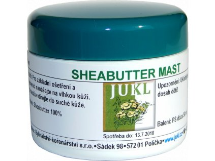 JUKL mast Sheabutter