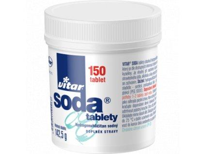 Soda tablety 150
