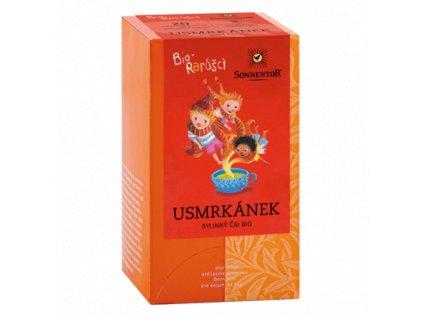 Sonnentor Dětský čaj Biorarášci - Usmrkánek