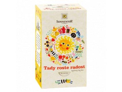 Sonnentor čaj Tady Roste radost