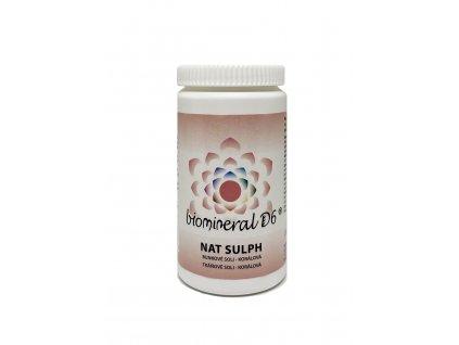 Tkáňová sůl Nat Sulph (Natrium Sulphuricum) - korálová