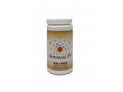 Tkáňová sůl Kali Mur (Kalium Muriaticum) - oranžová