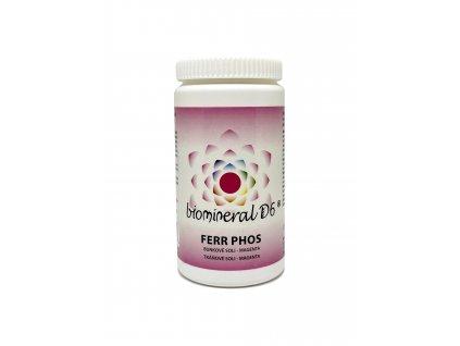 Tkáňová sůl Ferr Phos (Ferrum Phosphoricum) - magenta