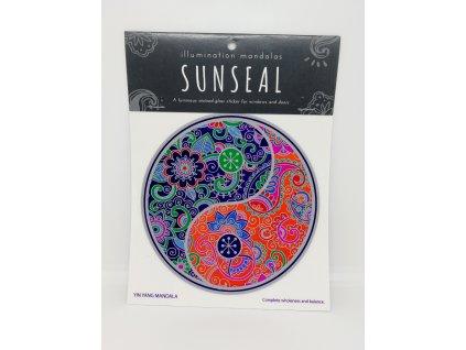 Sluneční mandala Jin Jang