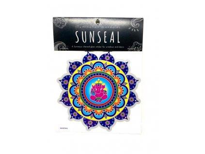 Sluneční mandala Ganesha