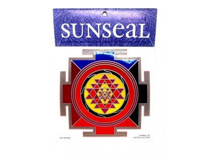 Sluneční mandala Shri Yantra