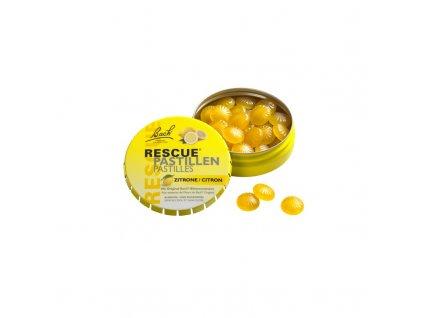 Bachovy esence Rescue Pastilky citron