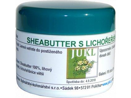 JUKL mast Sheabutter s lichořeřišnicí