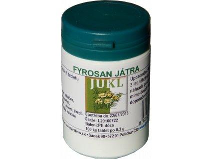 JUKL tablety Fyrosan Játra