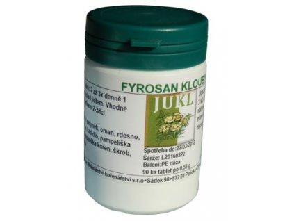 JUKL tablety Fyrosan Klouby