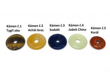 Donut 30 mm druhy