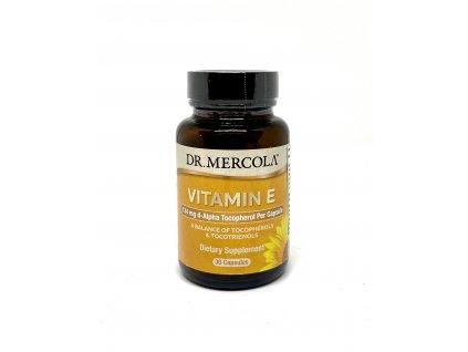 Dr. Mercola Vitamín E, 305IU, 30tbl