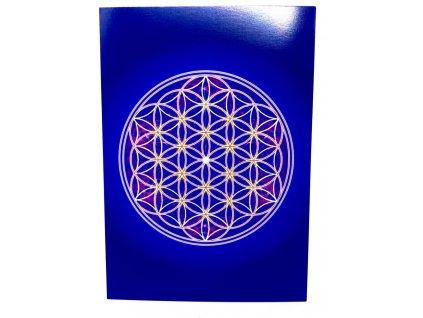 Vibrační obrázek Květ života