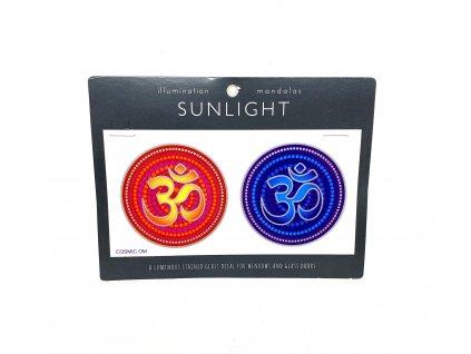 Sluneční mandala malá Cosmic Om