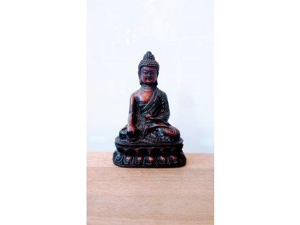 Soška Buddha, resin 9 cm