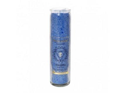 Svíce čakrová velká - Modrá