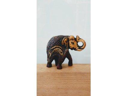 Soška Slon, pryskyřice 5,5cm