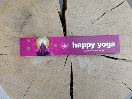 Vonné tyčinky Green Tree Happy Yoga