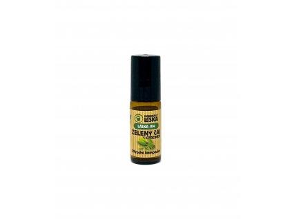Dokonalá láska - 100% přírodní parfém Zelený čaj (1ml)