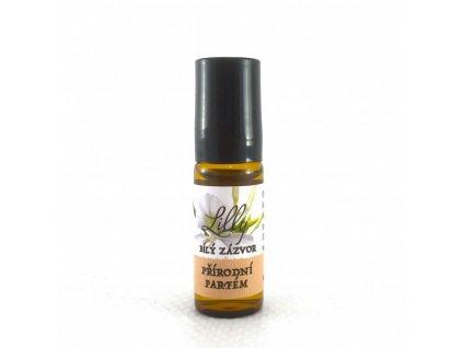 100% přírodní parfém Bílý zázvor 1ml