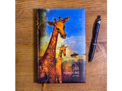Inspirační diář pro ženy - Slon