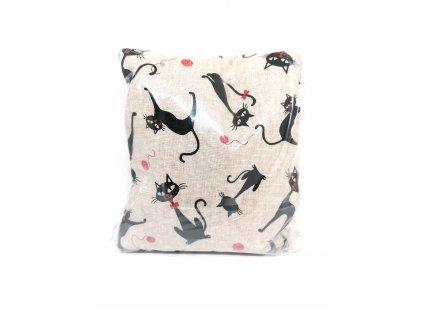 Nahřívací polštářek Super - kočky