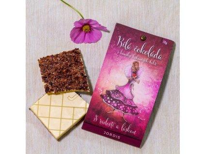 Bílá čokoláda 40% - S radostí a láskou