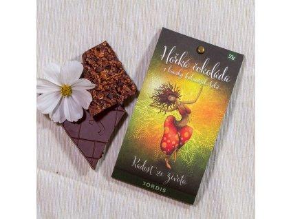 Hořká čokoláda 67% - Radost ze života