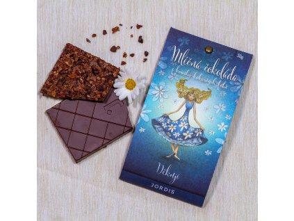 Mléčná čokoláda 53% - Děkuji