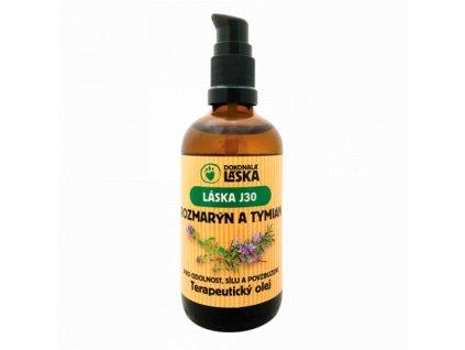 Dokonalá láska - terapeutický olej - Rozmarýn a tymián (100ml)