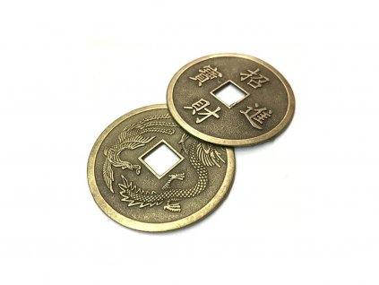 Čínské mince - 1ks - průměr 2,3 cm