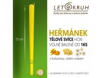 HOXI Tělová svíce s Heřmánkem