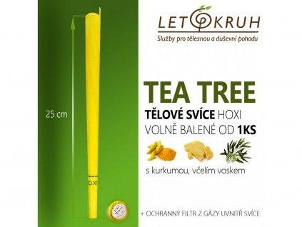 HOXI Tělová svíce s Tea Tree