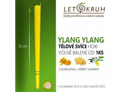 HOXI Tělová svíce s Ylang Ylang
