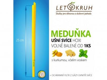HOXI Ušní svíce s Meduňkou