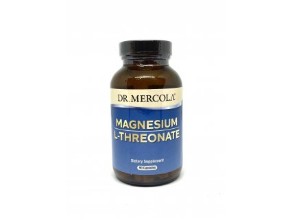 Dr. Mercola Magnesium Treonat, 90 kapslí