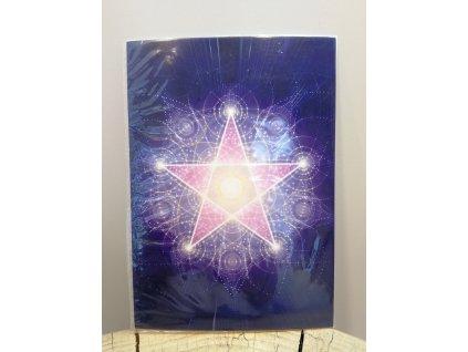 Vibrační obrázek Pentagram